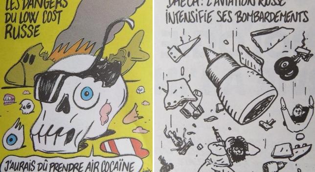 Las caricaturas de 'Charlie Hebdo' sobre la tragedia del A321 son un sacrilegio