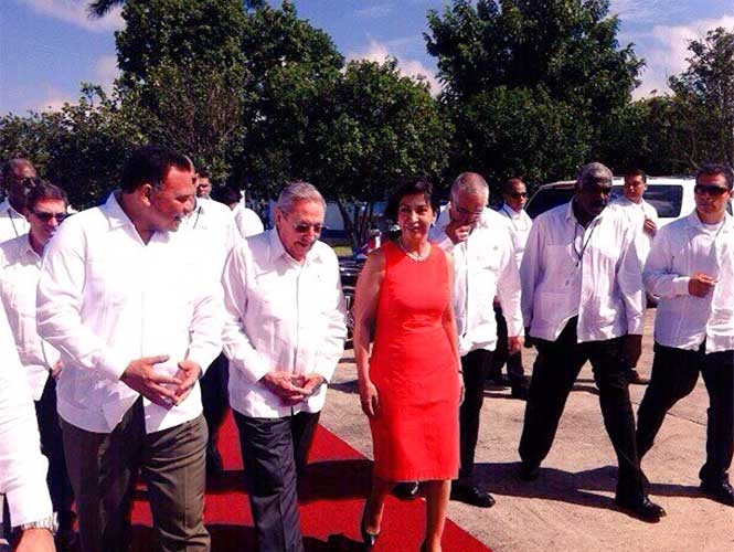 Presidente de Cuba Raúl Castro Ruz concluye visita de Estado a México