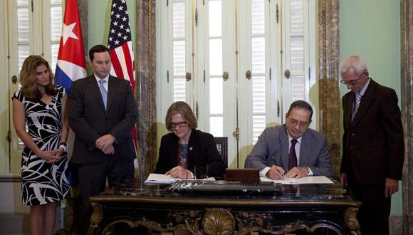 Cuba y EEUU firman primer acuerdo ambiental desde el 17D