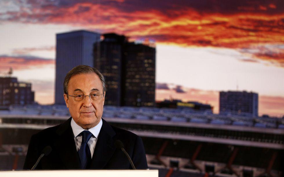 Florentino decide comparecer ante la Prensa hoy