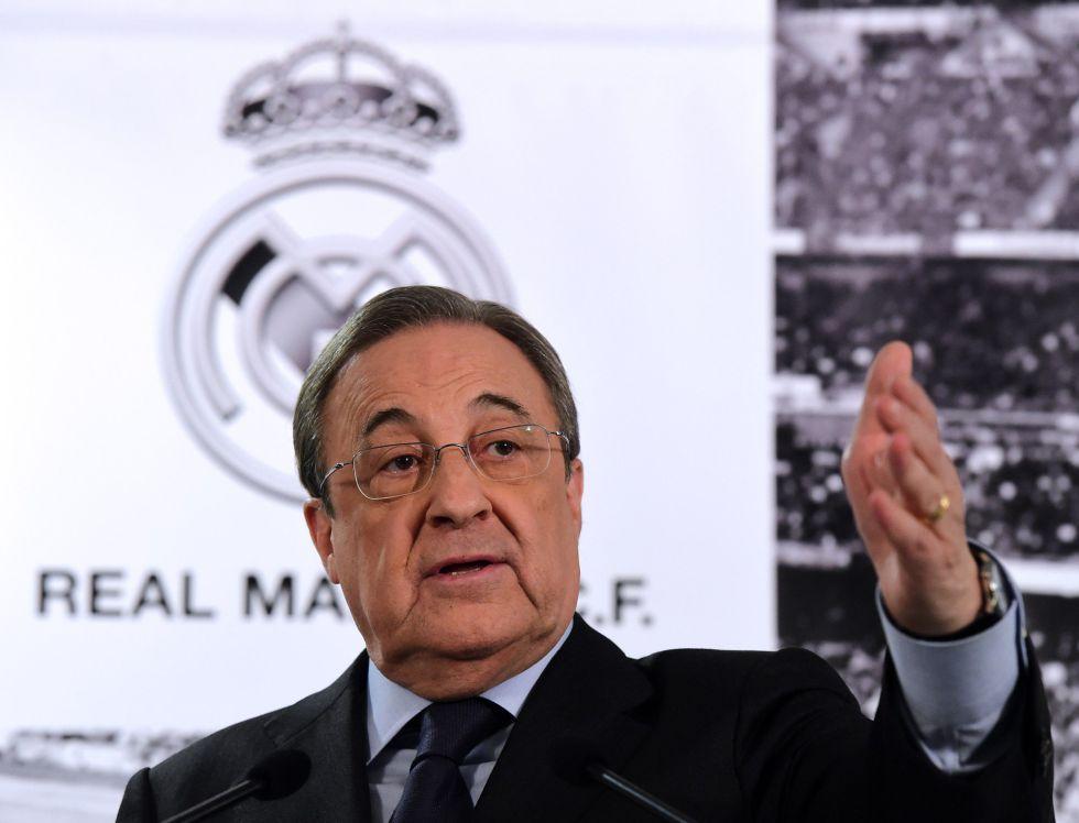 """Florentino: """"La solución es Rafa Benítez; respaldo al entrenador"""""""