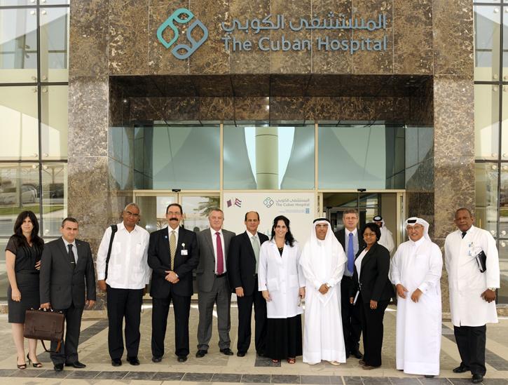 Premian a Hospital Cubano de Qatar por Calidad de Enfermería