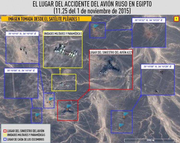 Imágenes del satélite