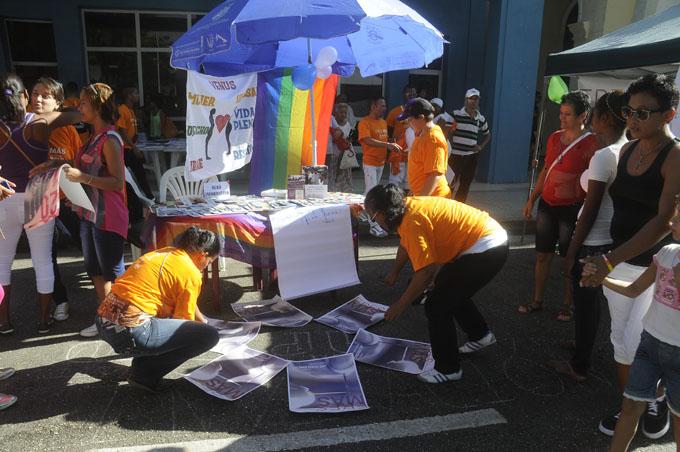 Jornada contra la No violencia, Bayamo