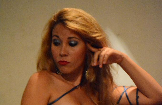 Lesnia Vázquez, actriz Granma