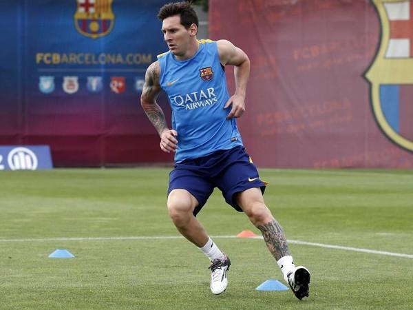 El Barça sigue preparando el Clásico con Messi y sin Rakitic