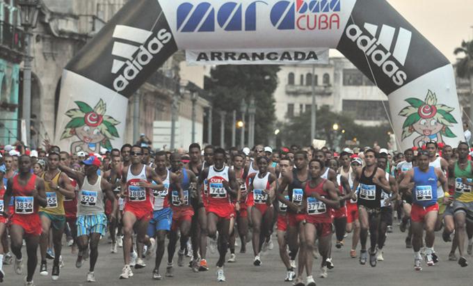 Inscritos corredores de más de 46 países para principal maratón de Cuba