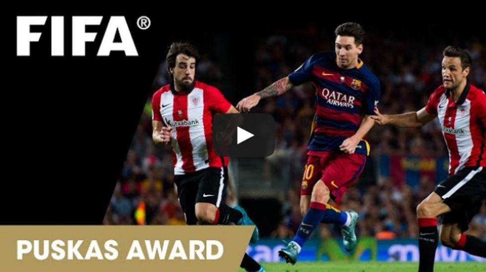 Messi y Chori Castro, entre los candidatos al mejor gol del año