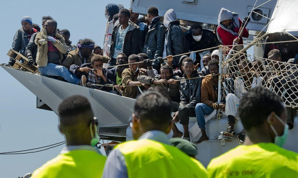 Migrantes Europa