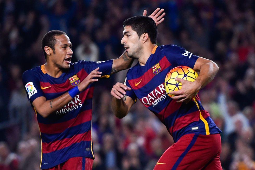 Suárez y Neymar firman los 13 goles desde la lesión de Messi