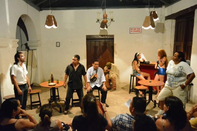 Obra Noria, la última del grupo de teatro Alas D Cuba y con excelente aceptación del público y la crítica.