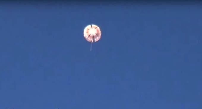 Uno de los pilotos del bombardero ruso derribado fue rescatado