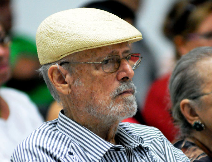 CUBA-LA HABANA-  LECTURAS COMENTADAS DE JOSEFINA GARCÍA MARRUZ, EN LA CASA DE LAS AMÉRICAS.
