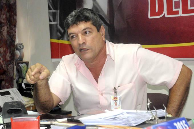 Roger Fernández Bodaño, director de la Empresa Cárnica en Granma