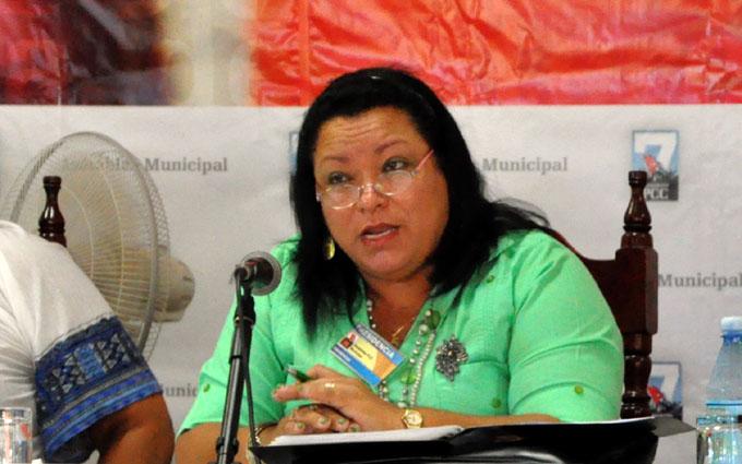 Sonia Virgen Pérez Mojena, PCC Granma