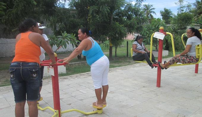 La actividad física no tiene límite de ningún tipo / FOTO Del autor