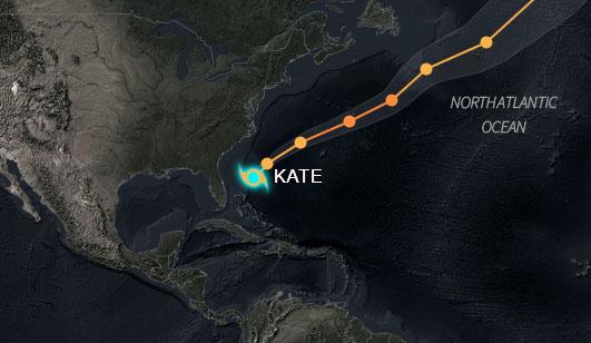 Tormenta Kate