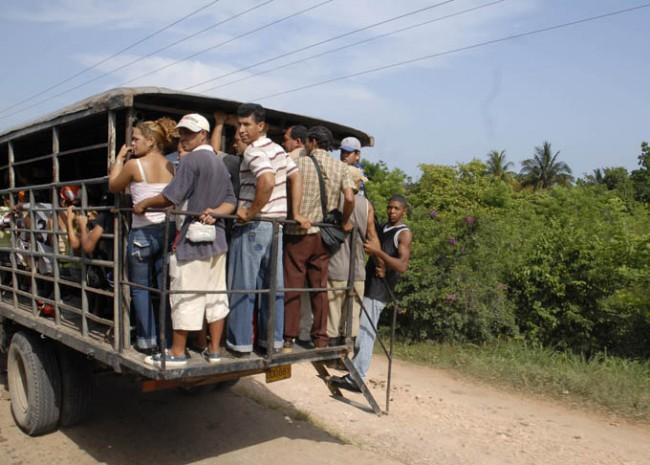 El exceso de pasajeros es una violación