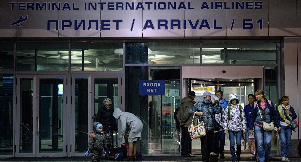 Los primeros turistas rusos llegan de Egipto a San Petersburgo tras suspensión de vuelos