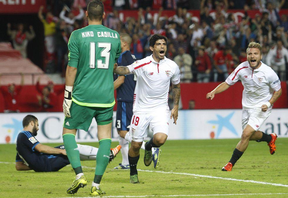 El Sevilla desnuda al Madrid