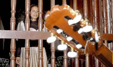 Rememoración de la interpretación de La Bayamesa de Céspedes y Fornaris, FOTO/ Luis Carlos Palacios