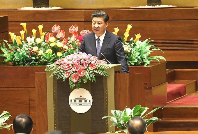 Presidente chino elogia amistad entre China y Vietnam