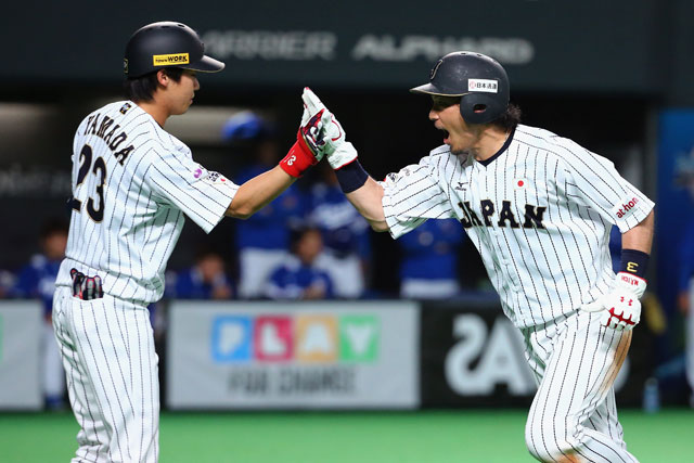 Yamada (IZQ) y Nobuhiro Matsuda
