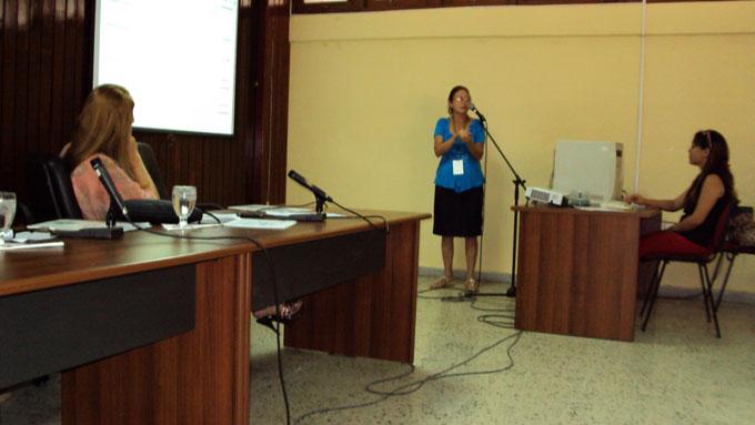 Exponen en Agromas identificación taxonómica de especies leñosas en Granma