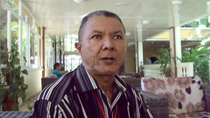 Jorge Ray Ramírez, director del Dimitrov /FOTO Anaisis Hidalgo Rodríguez