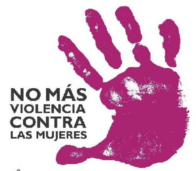 Por la no violencia hacia la mujer y las niñas