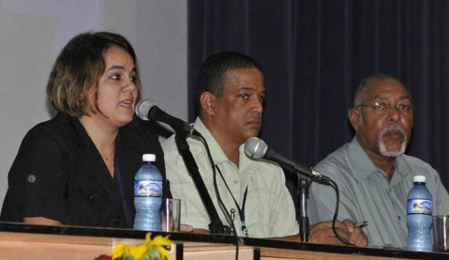 Fotos/ Luis C. palacios Leyva. Ailyn Febles Estrada, presidenta de la Comisión nacional organizadora de la UIC