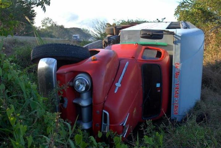 Accidente de tránsito en Santiago de Cuba