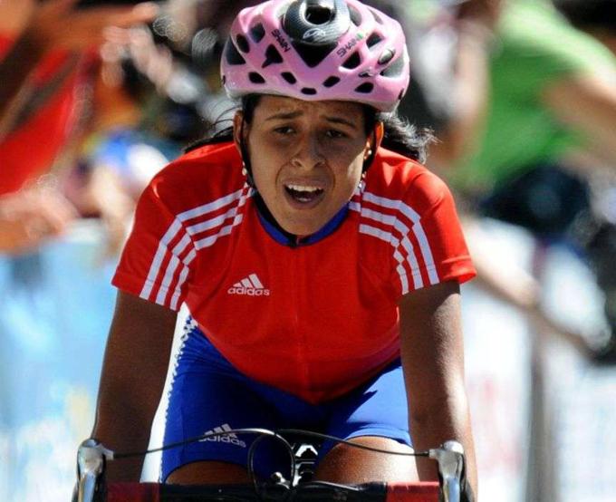 La ciclista manzanillera Arlenis Sierra es una de las atletas granmenses con más posibilidades de asistir a Río 2016 / Foto Internet