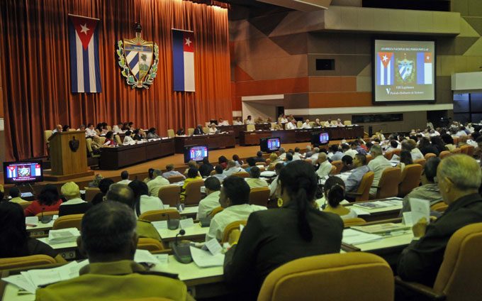 Sesionará el 29 de diciembre la Asamblea Nacional del Poder Popular