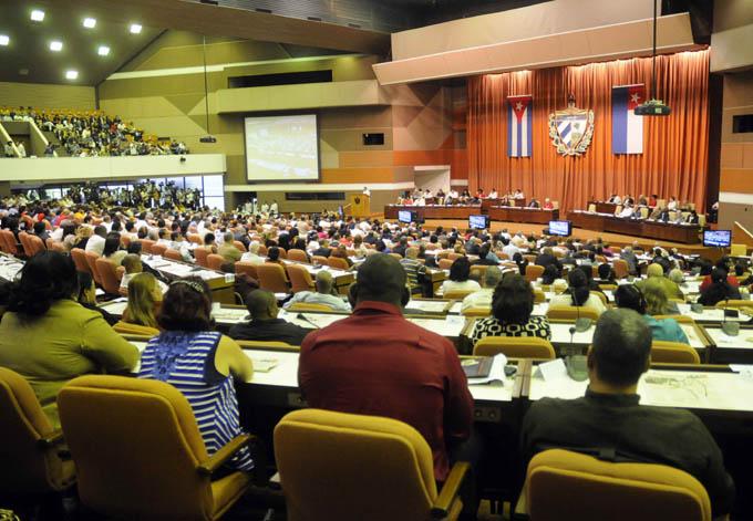 CUBA-LA HABANA-CLAUSURA DE SESION PLENARIA DE LA ASAMBLEA NACIONAL