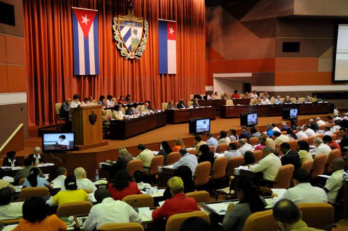 CUBA-LA HABANA-PRESIDE RAUL CASTRO SESION PLENARIA DEL SEGUNDO PERÍODO ORDINARIO DE SESIONES DE LA ASAMBLEA NACIONAL DEL PODER POPULAR (ANPP)