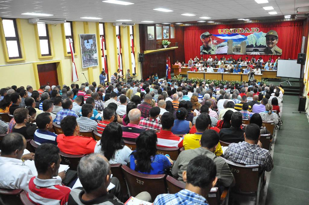 Asamblea Provincial del Partido en Granma 1