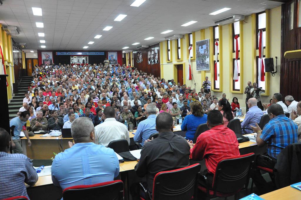 Asamblea Provincial del Partido en Granma