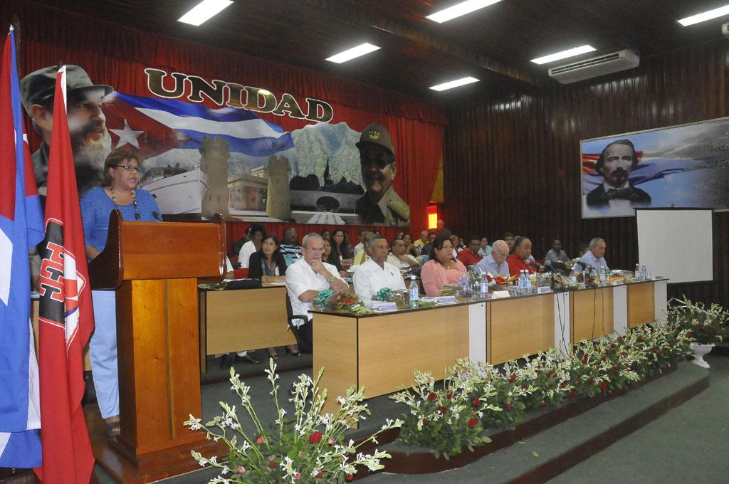 Asamblea del PCC en Granma