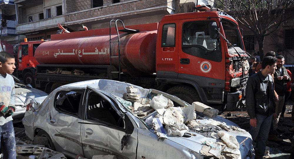 Coche bomba causó 19 muertos y 43 heridos en localidad siria de Homs
