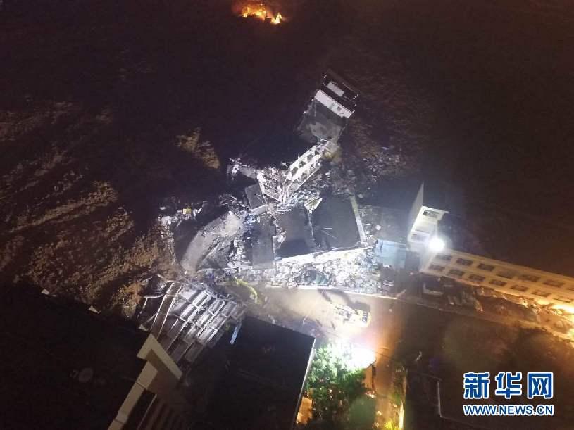 Suman 91 los desaparecidos por alud de tierra en sureste de China