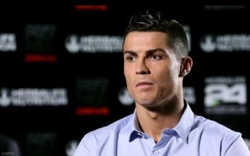 Cristiano Ronaldo en entrevista