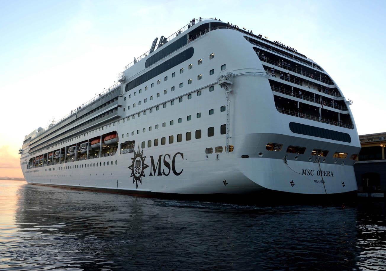 Crucero MSC Opera arribó La Habana