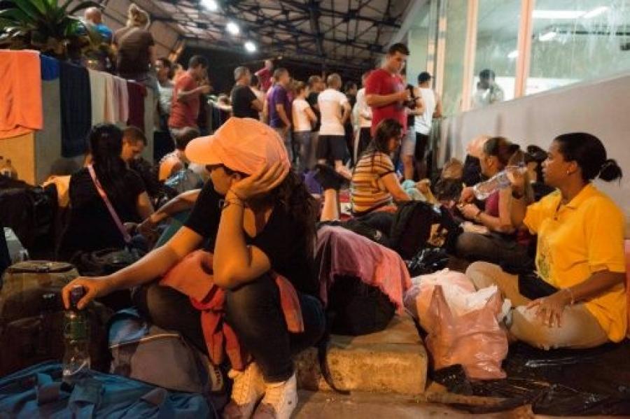 Cubanos migrantes