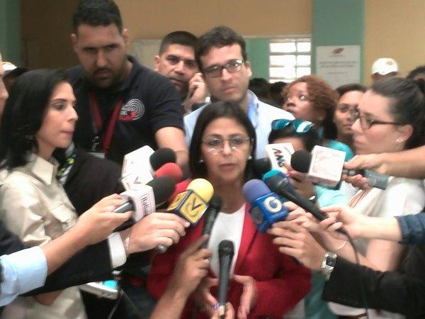 Canciller venezolana rechaza campaña mediática contra su país