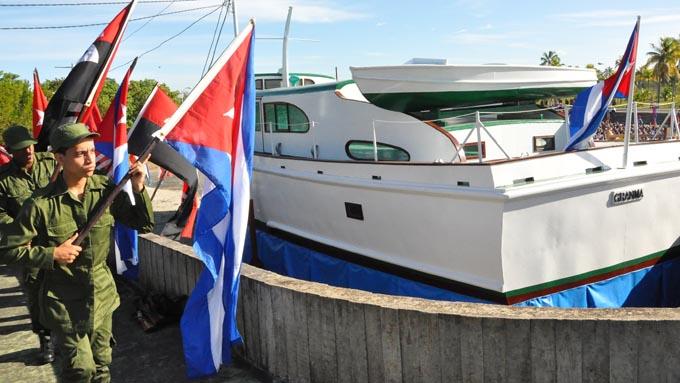 Conmemoran en Cuba aniversario del Desembarco del Granma