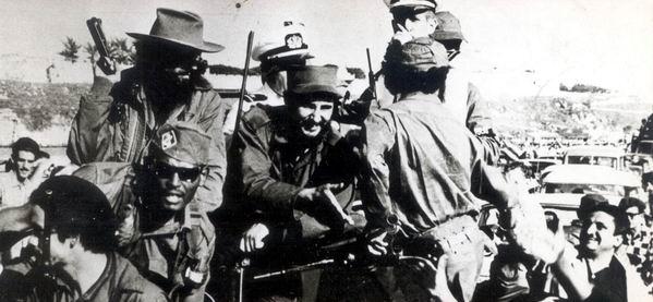 Entrada de Fidel a La Habana