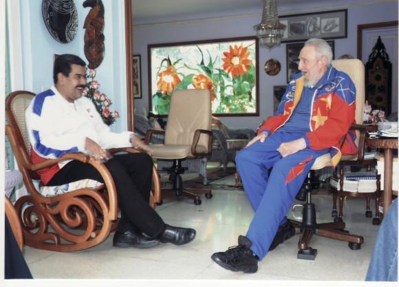 Fidel Castro y Maduro