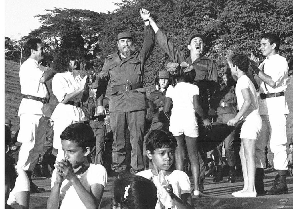Fidel y Raúl Cinco Palmas