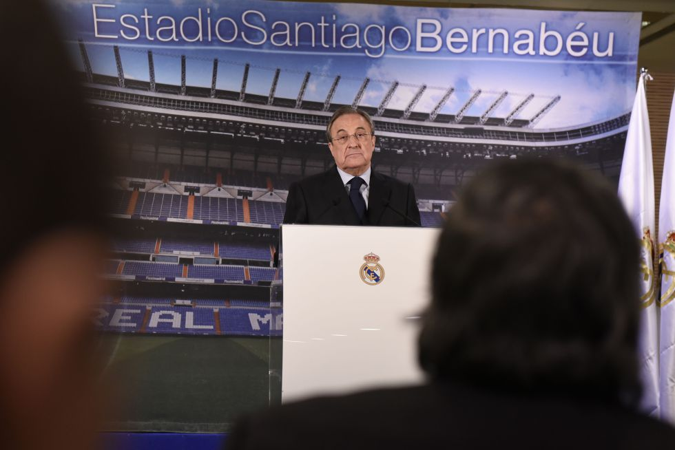 """Florentino Pérez: """"El Madrid no incurrió en alineación indebida"""""""